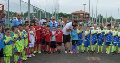 Mario Del Gardenia scuola di calcio Me.Gi.C. Napoli e provincia