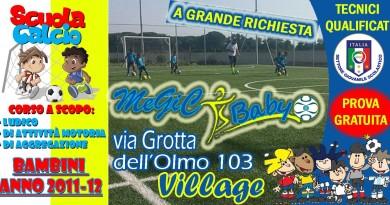 Megic Baby 2011-2012 megic stagione 2015-2016 scuola di calcio Me.Gi.C. Napoli e provincia