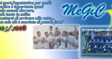 megic stagione 2015-2016 scuola di calcio Me.Gi.C. Napoli e provincia