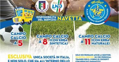 promo egic stagione 2015-2016 scuola di calcio Me.Gi.C. Napoli e provincia