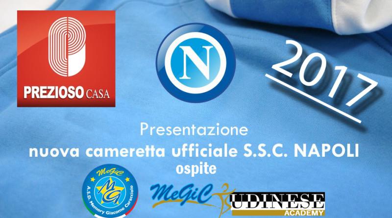 Il connubio vincente tra Prezioso Casa e SSC Napoli continua a regalarci qualcosa di….. MeGiC