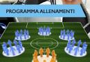 Programma allenamenti scuola calcio